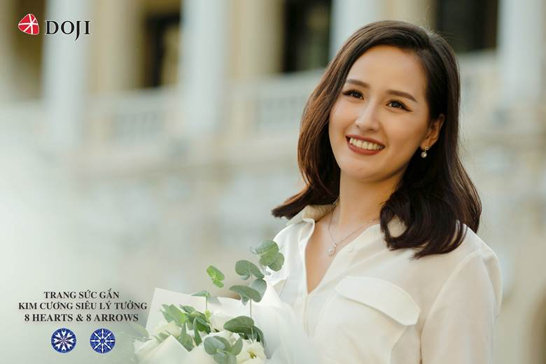 Trang sức Doji hoa hậu Mai phương thuý