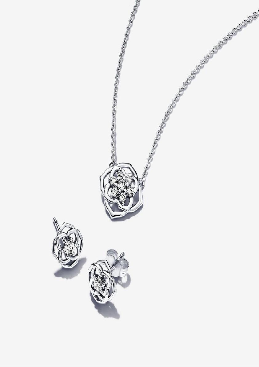 Set trang sức Pandora Rose Petals