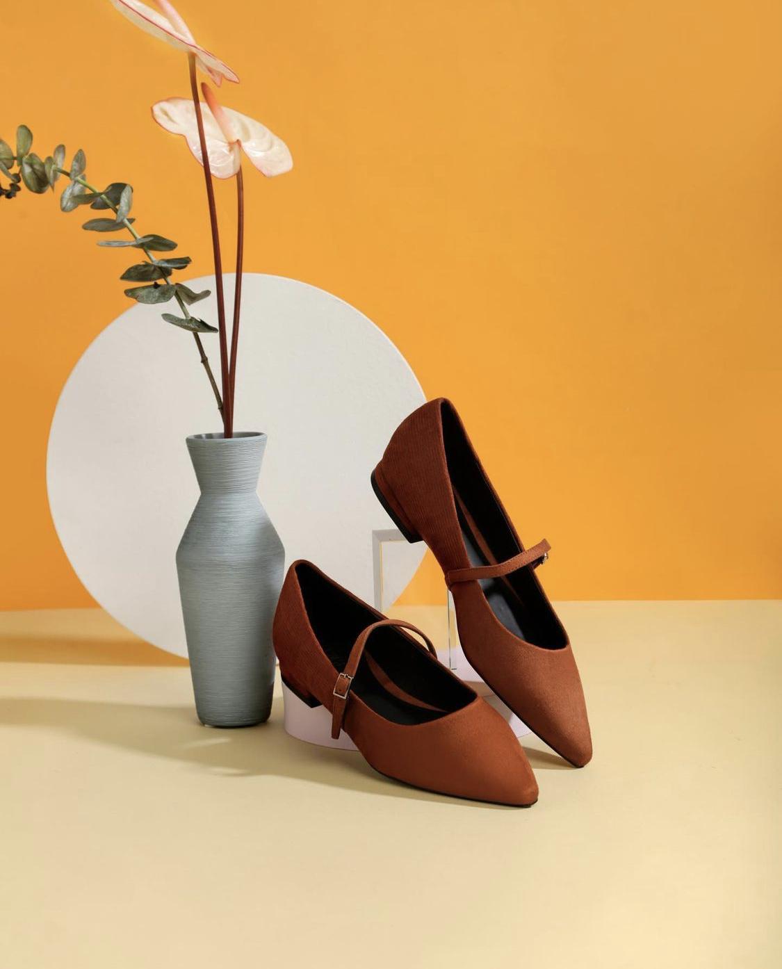 Giày đế bệt Vascara