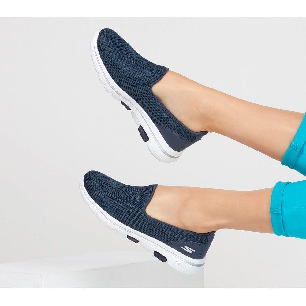 giày lười skechers màu navy quà tặng ngày của mẹ