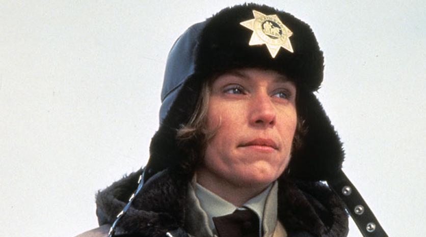 Frances McDormand trong phim điện ảnh Fargo