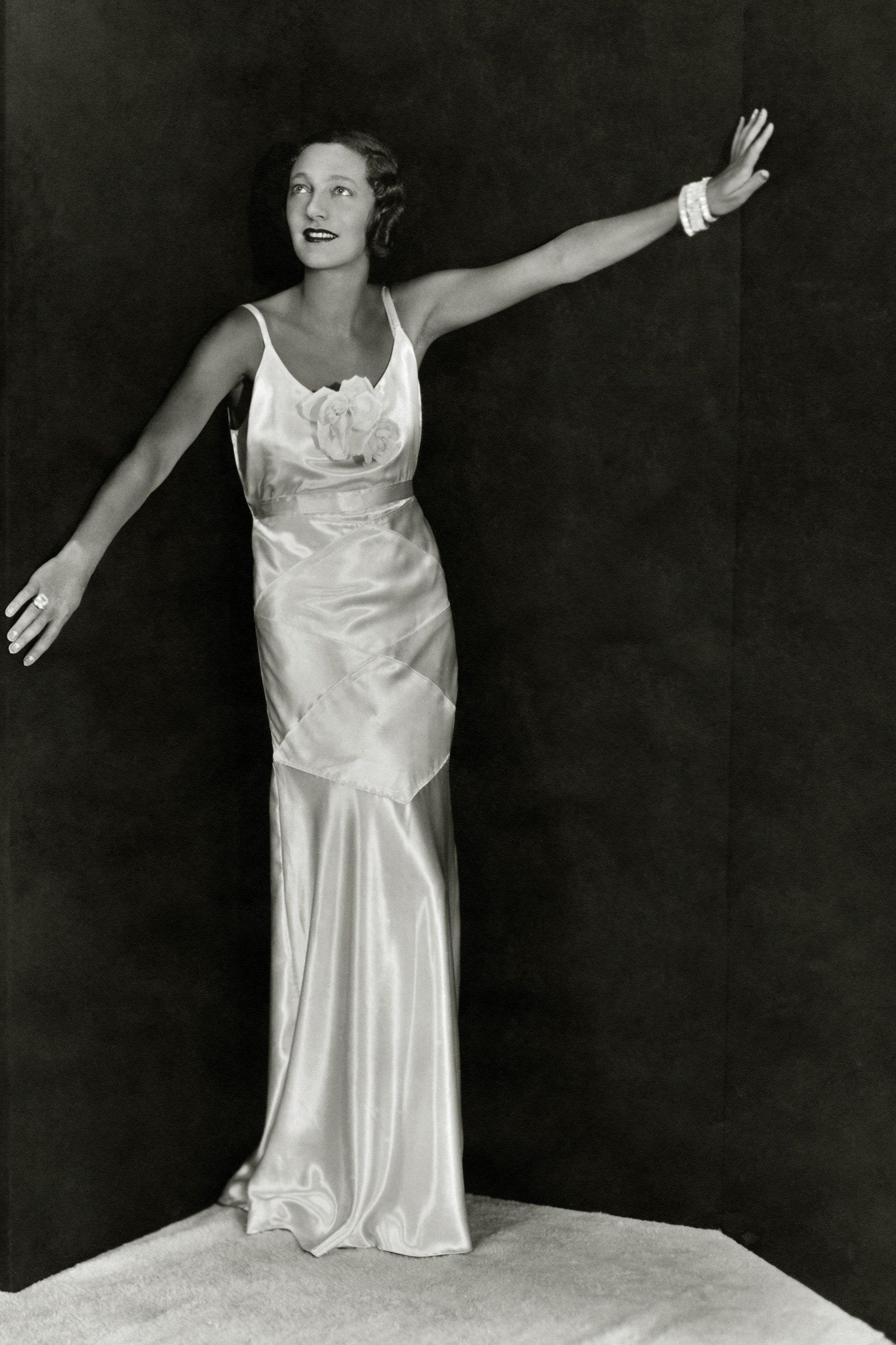 Gertrude Lawrence slip dress