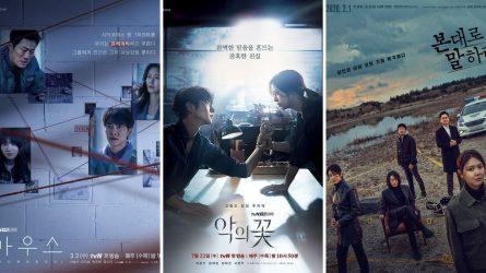 20 bộ phim Hàn Quốc hay nhất về đề tài tâm lý tội phạm và điều tra phá án