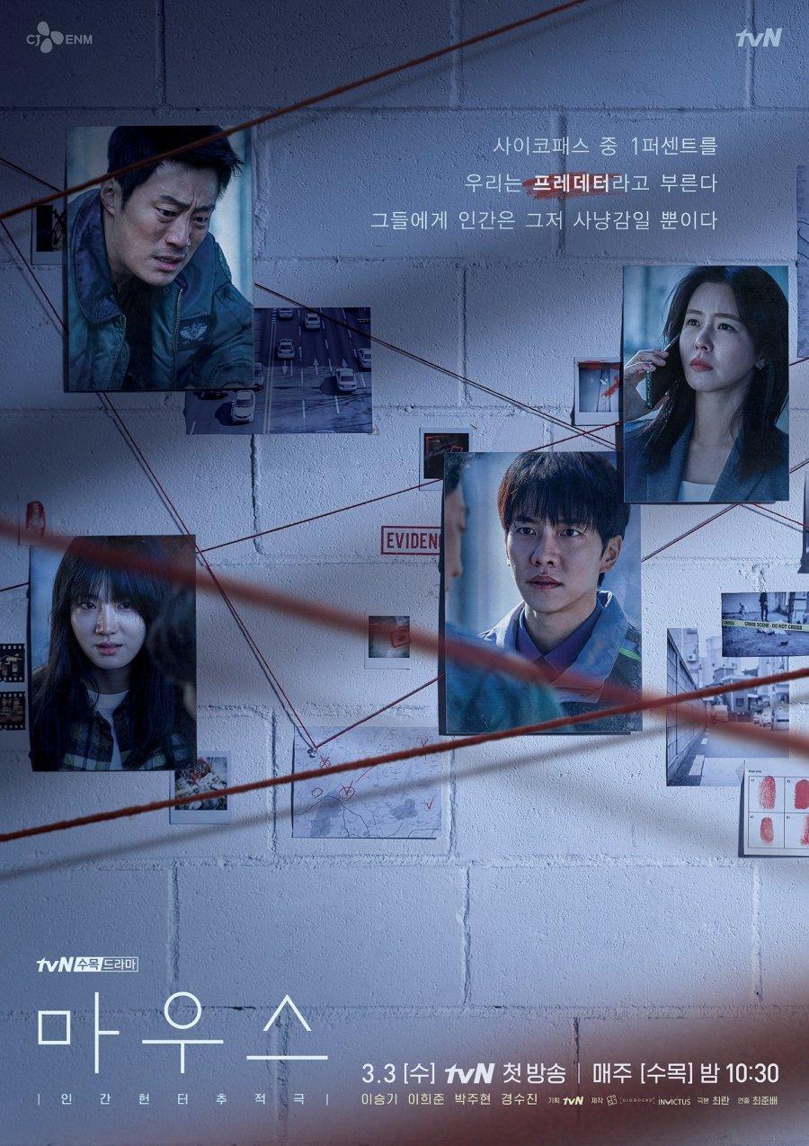 Mouse phim Hàn đề tài điều tra tội phạm kinh dị