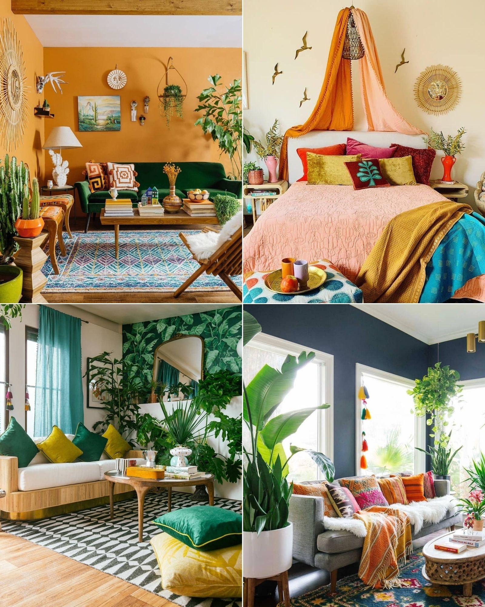 Tài khoản Instagram @thejungalow truyền cảm hứng trang trí phòng