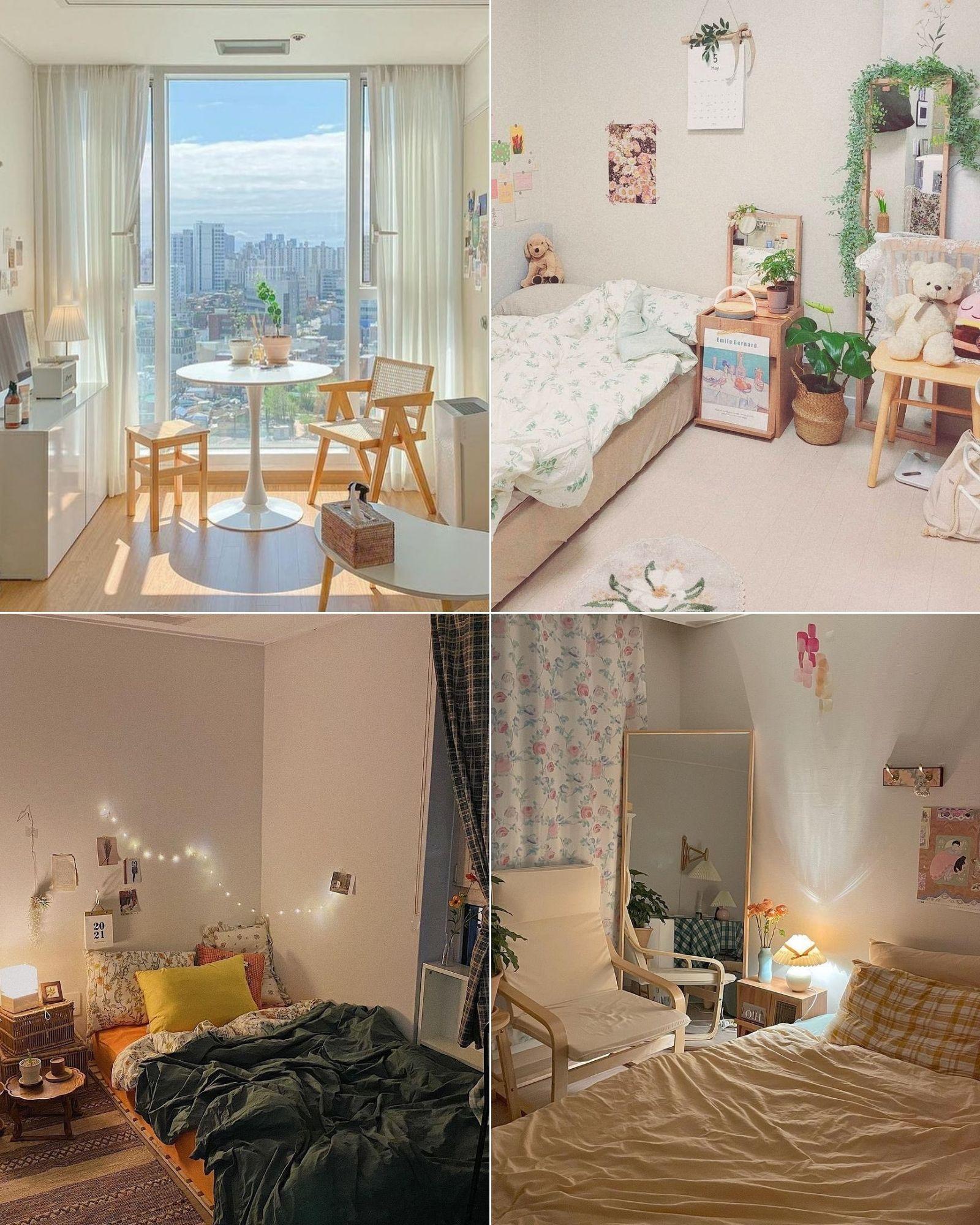 Tài khoản Instagram @oneroom.make truyền cảm hứng trang trí phòng