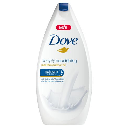 Sữa tắm dưỡng ẩm chuyên sâu Dove