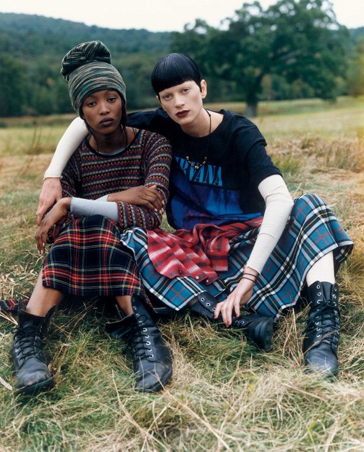 phong cách thời trang Grunge