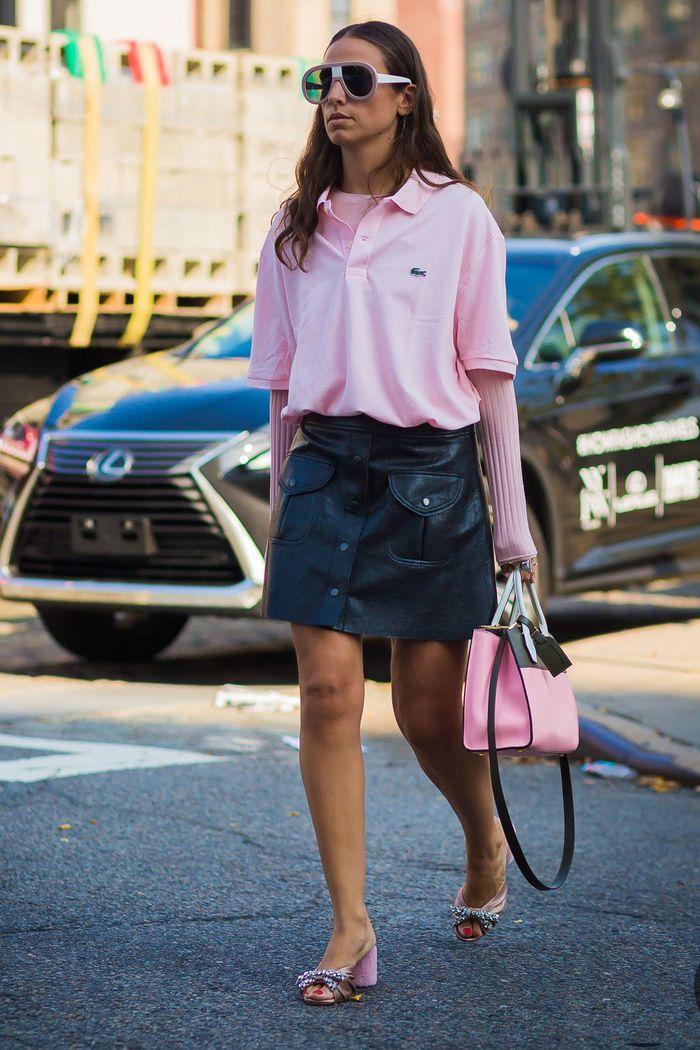 Lacoste áo oversized