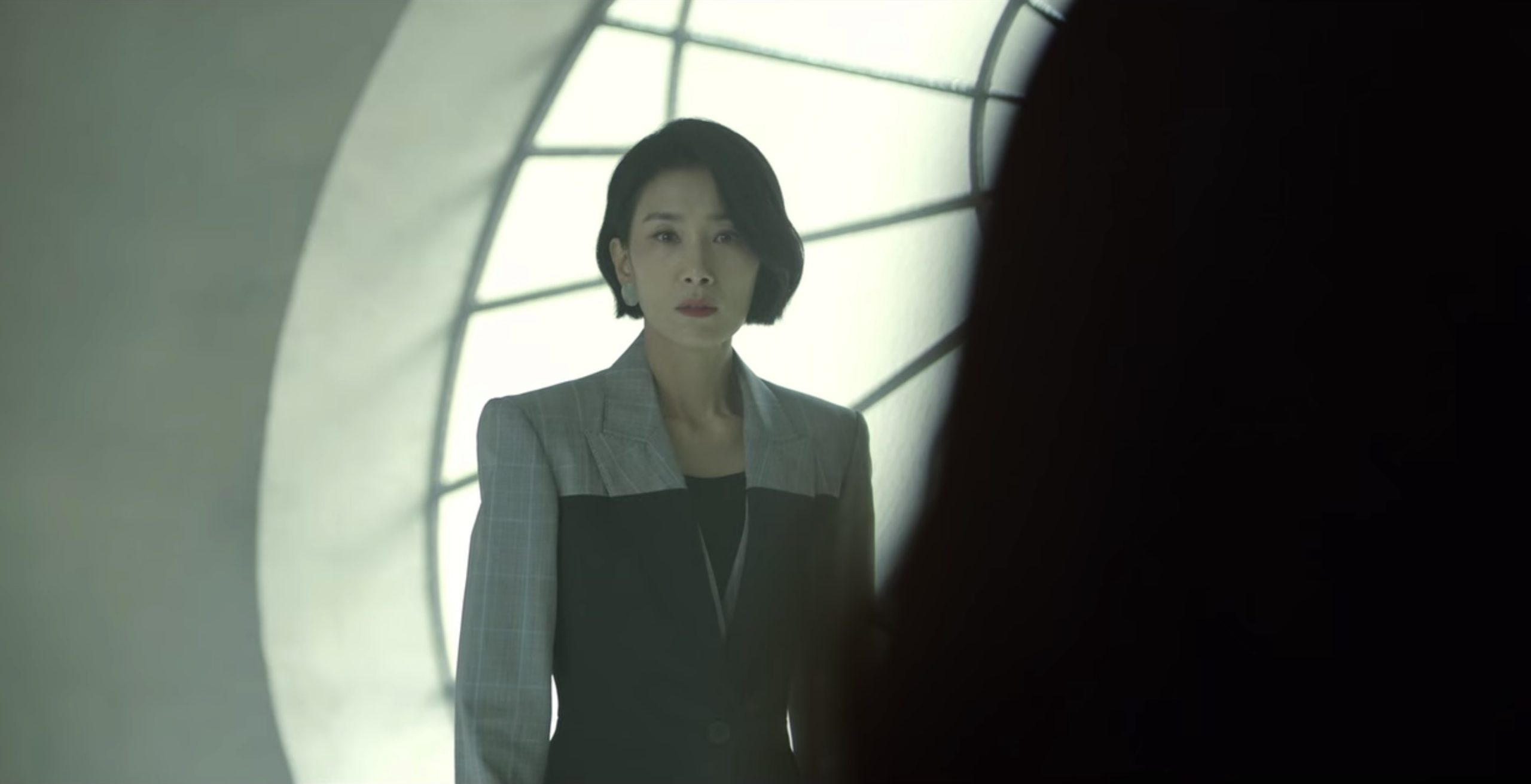Jeong Seo Huyn Suit Alexanders Mcqueen