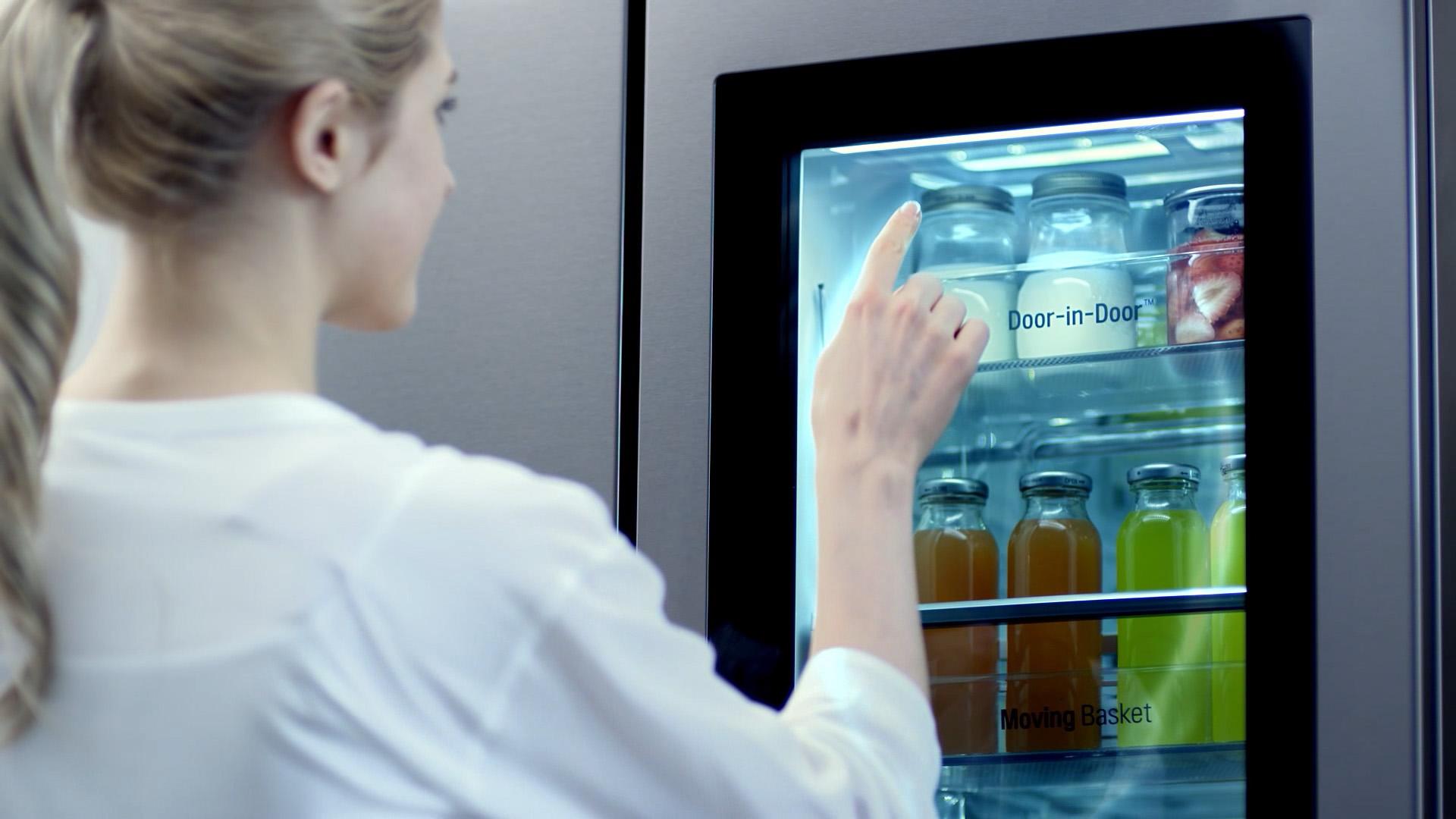tủ lạnh LG giữ thực phẩm tươi mới