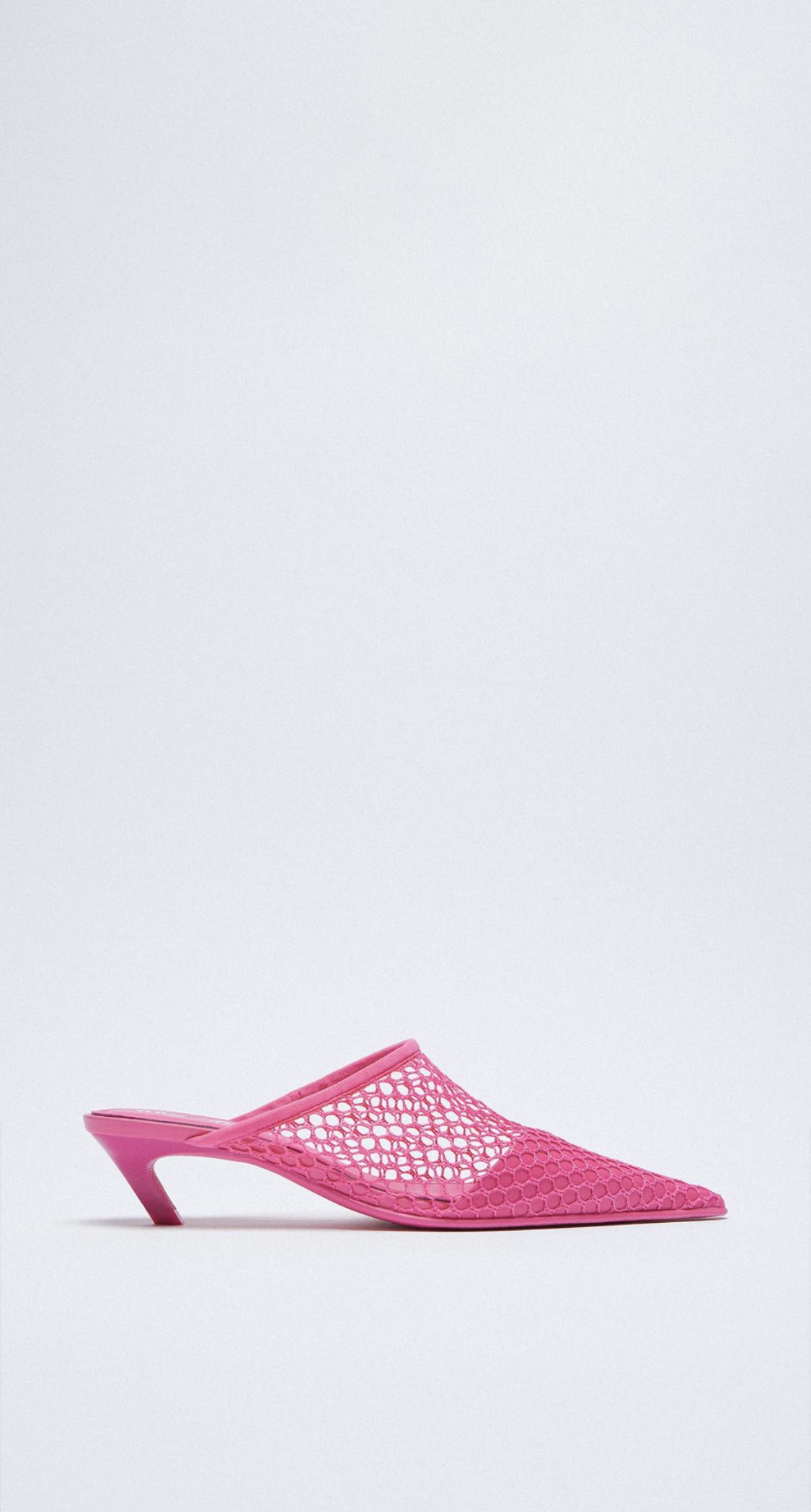 giày hở gót zara
