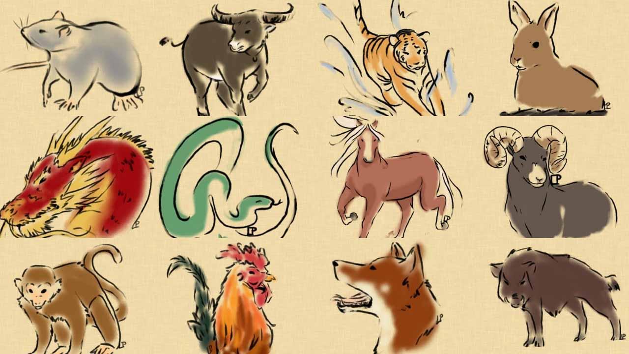 biểu tượng may mắn mười hai con giáp