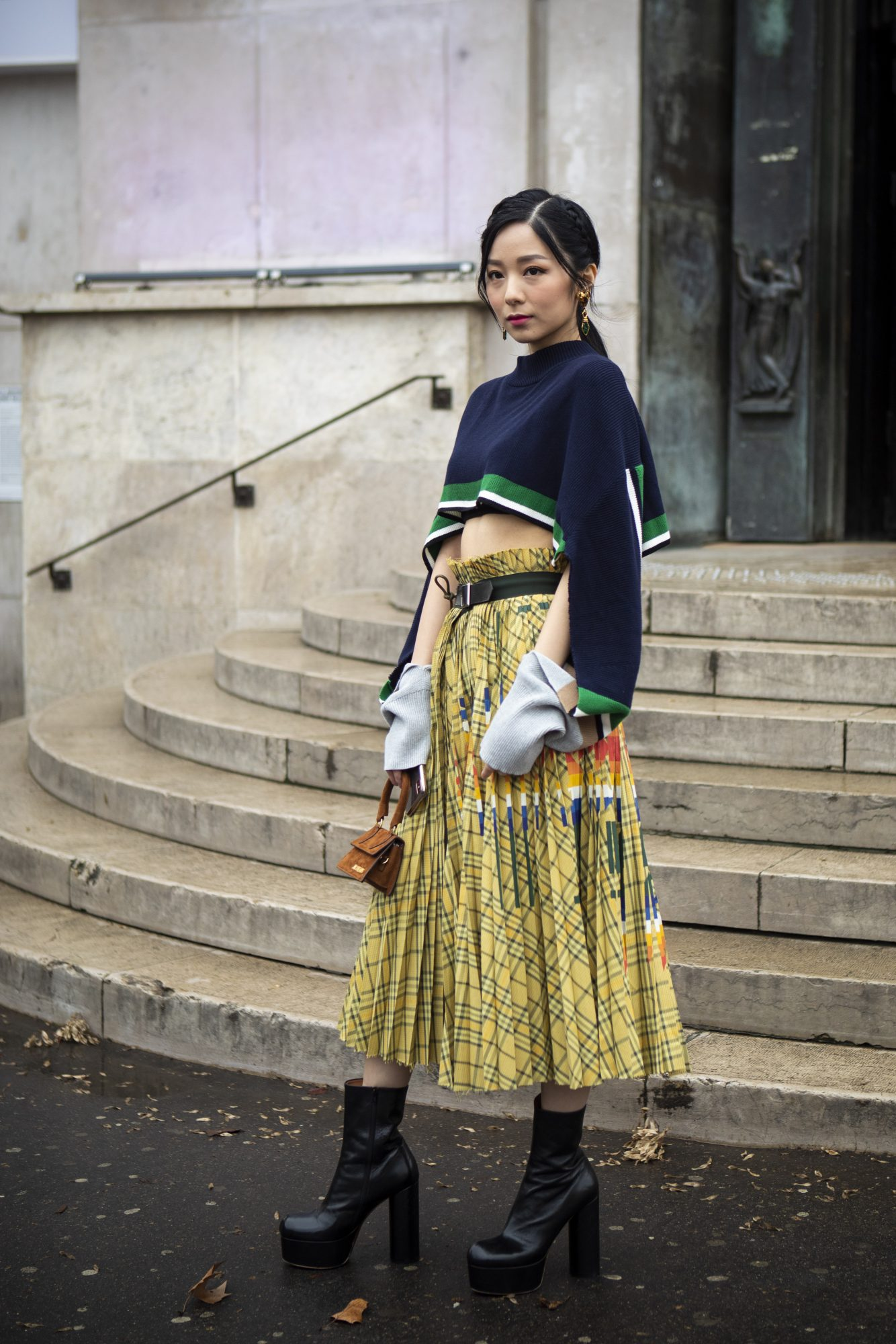 Stand out with patterned skirts