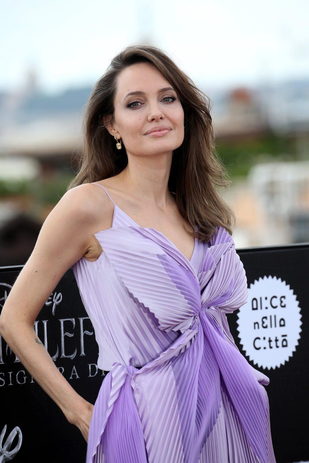 Angelina Jolie's skin care routine