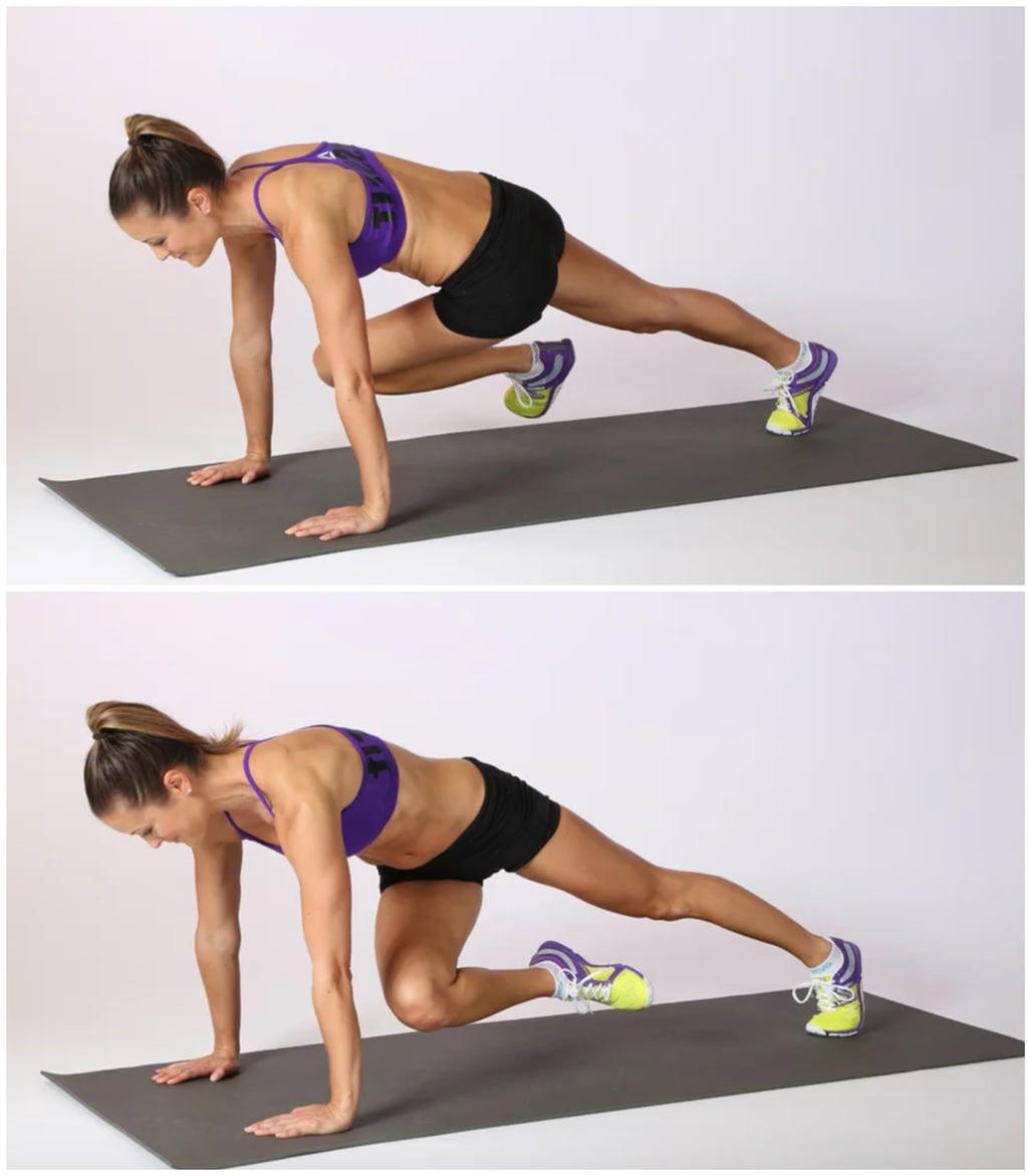Cross Body Climber là động tác giúp kích hoạt cơ trọng tâm và đánh tan mỡ bụng dưới