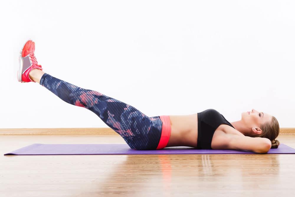 Straight Leg Raise là động tác giảm mỡ bụng dưới một cách tối ưu