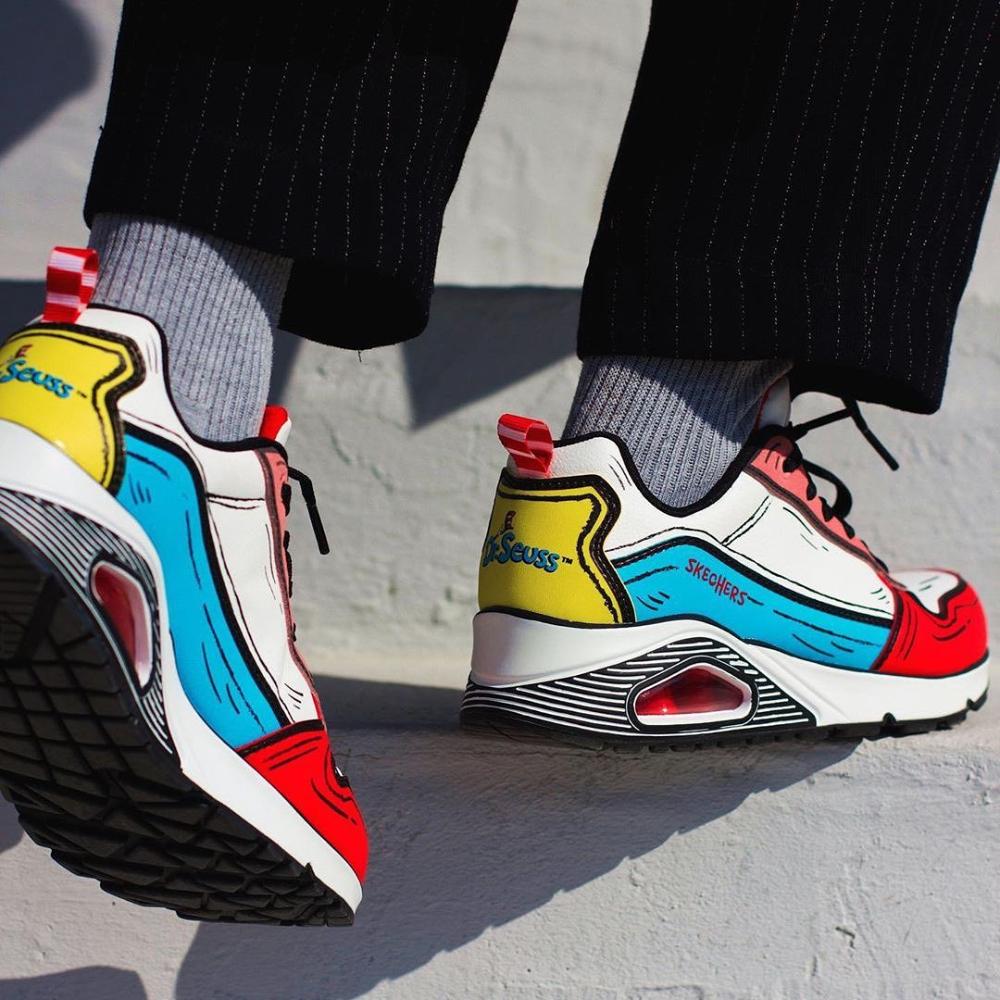 giày thể thao cảm hứng từ Dr Suess