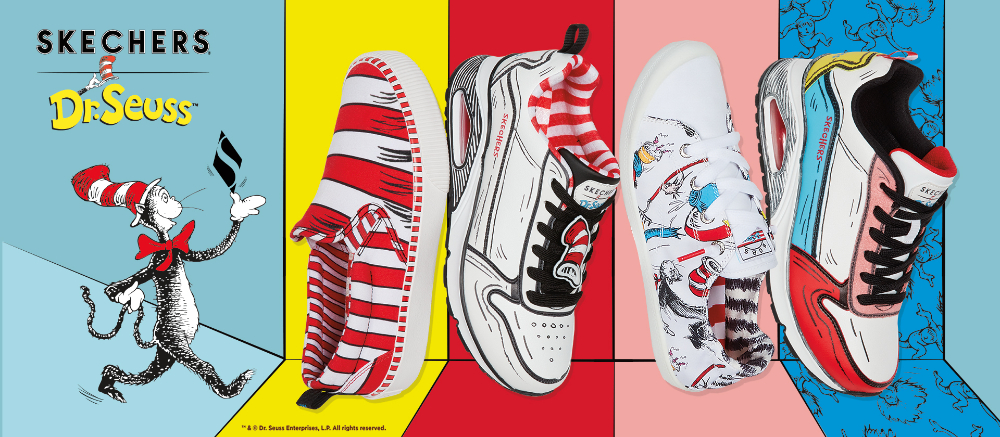skechers x dr suess giày thể thao