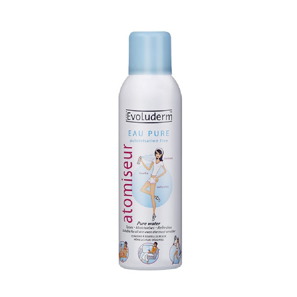 Xịt khoáng Evoluderm Atomiseur Eau Pure Spray