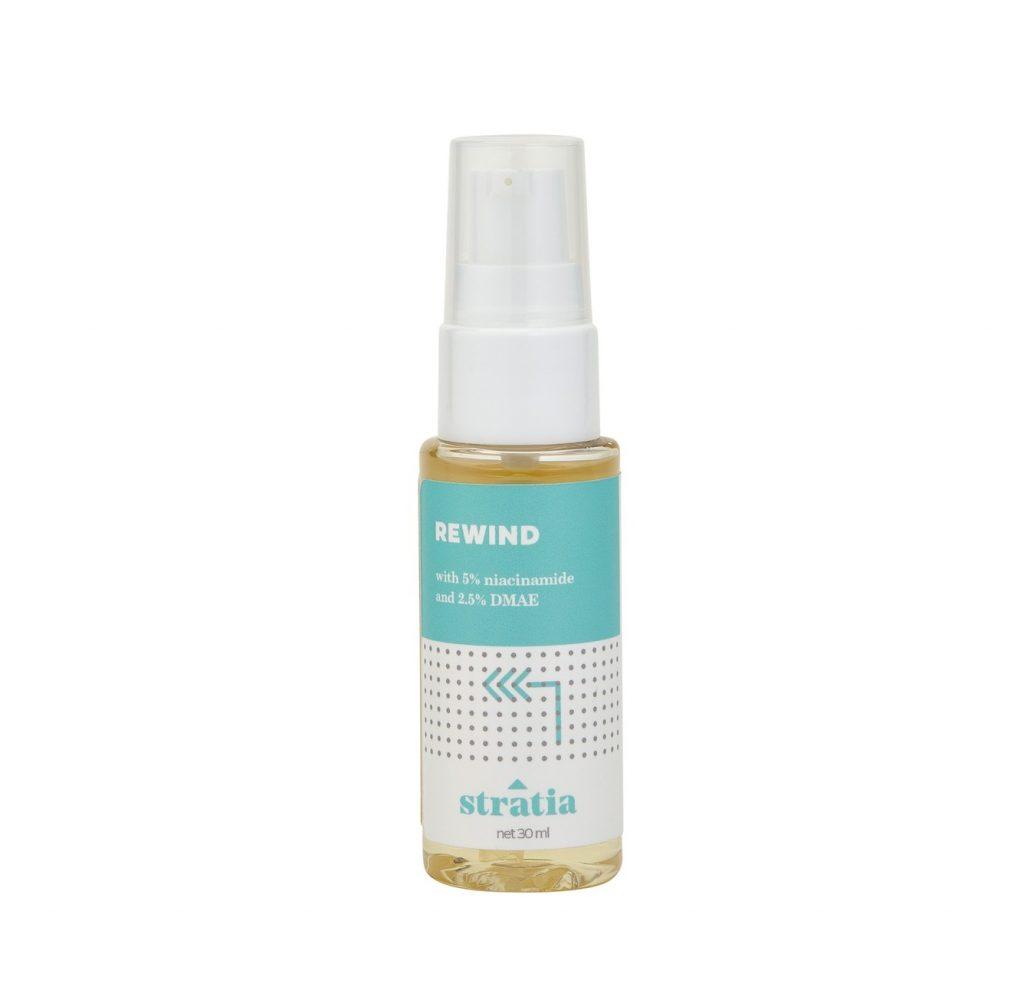 Stratia Rewind tinh chất có chứa Niacinamide dưỡng ẩm hiệu quả