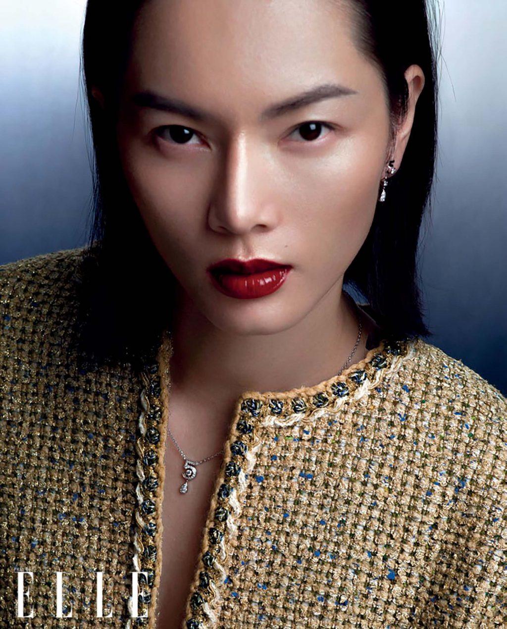 Bảo Hòa gương mặt trang bìa elle tháng 6