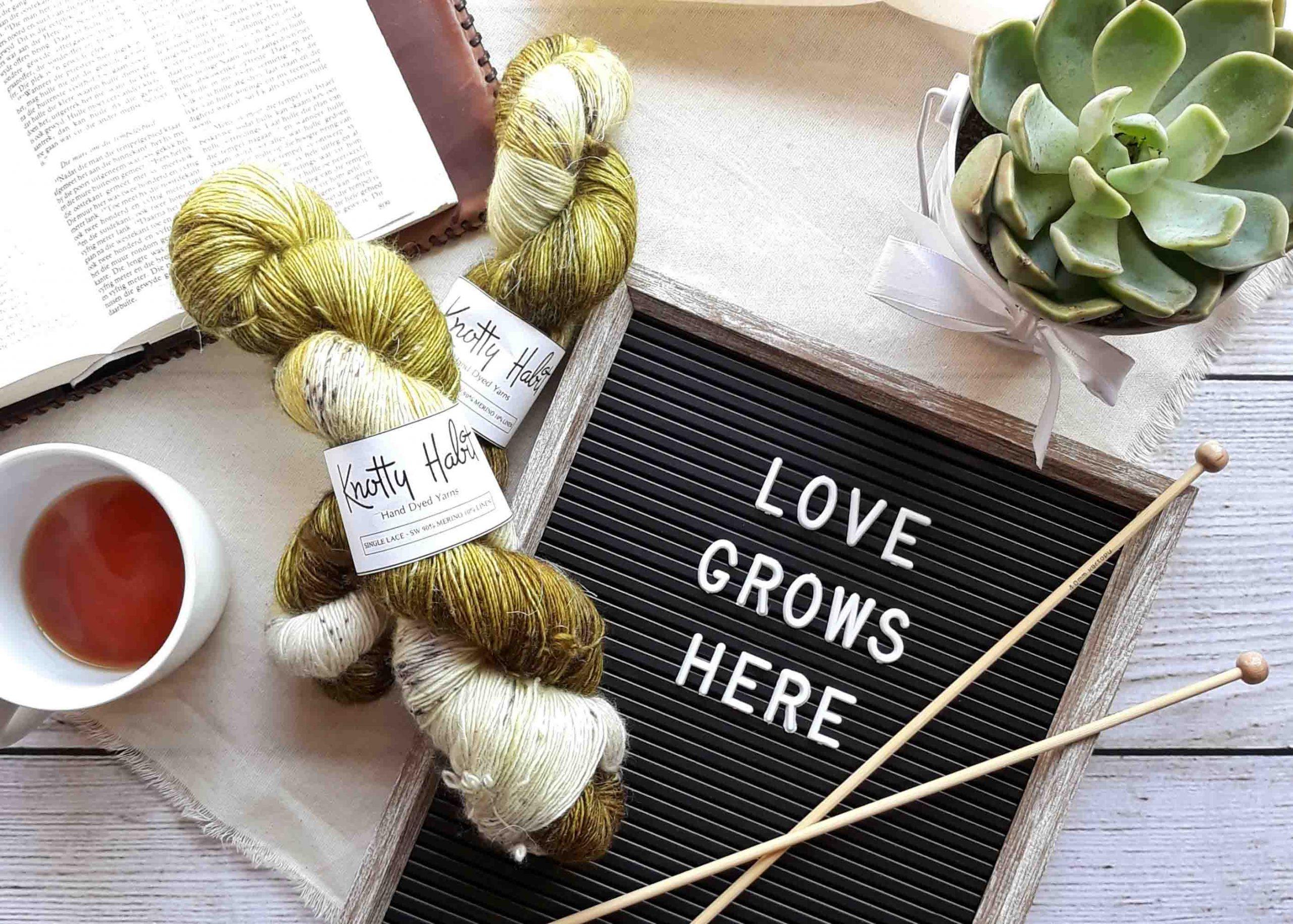niềm vui đan len