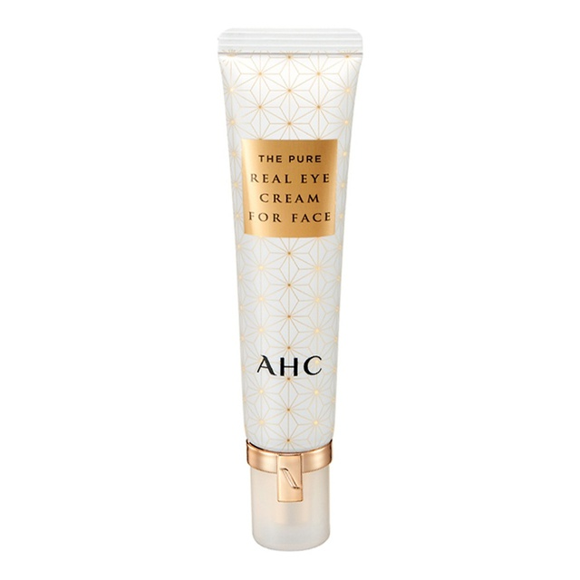 AHC The Pure Real Eye Cream for Face kem mắt hiệu quả cho dưỡng da ban đêm