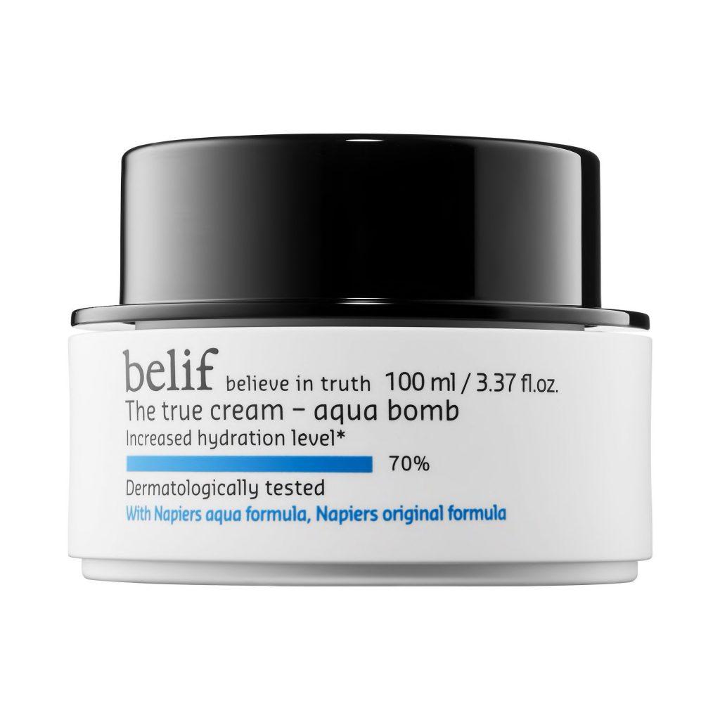 Kem dưỡng ẩm Belif The True Cream - Aqua Bomb dưỡng da ban đêm hiệu quả
