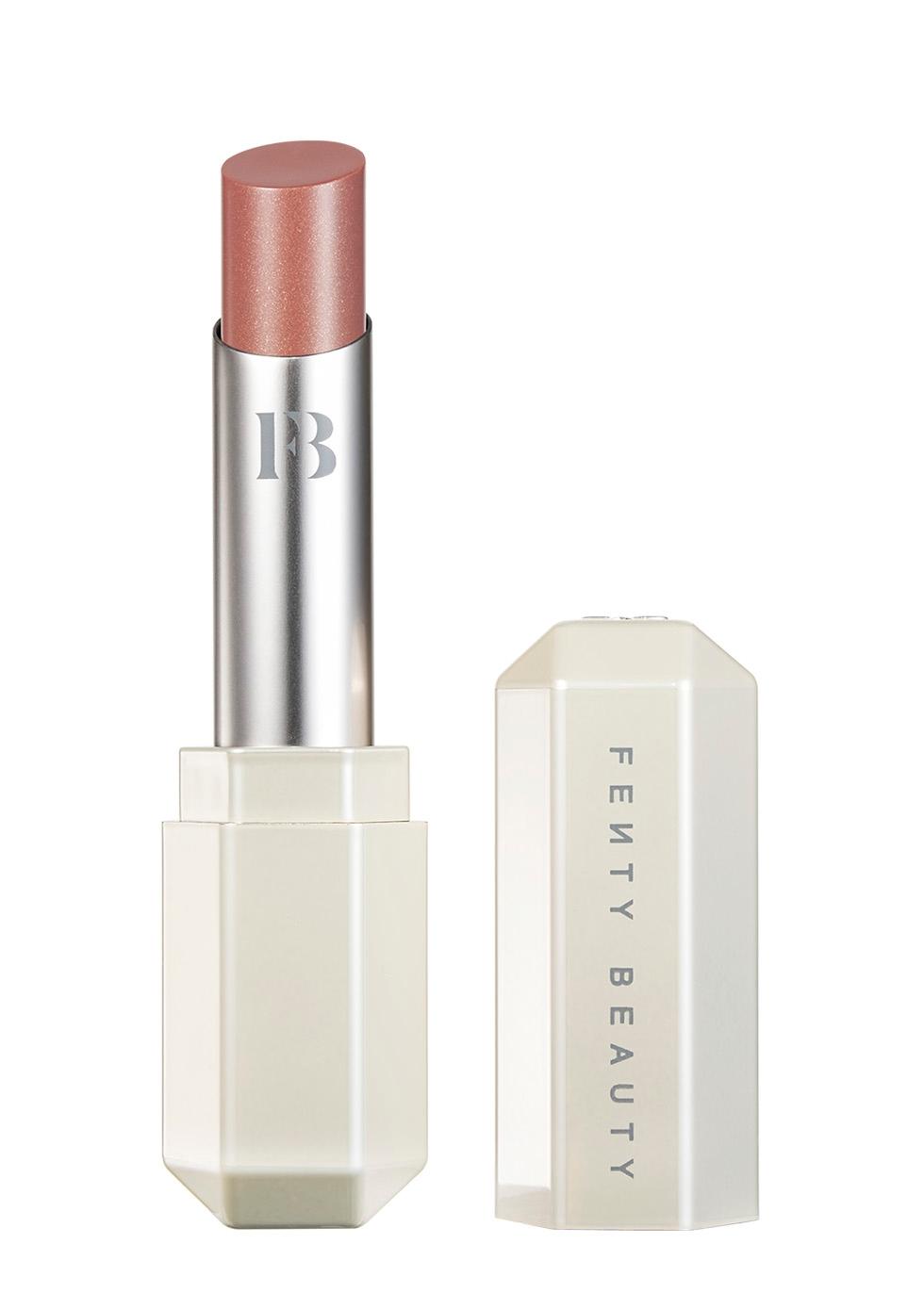 Màu son nude - Fenty Beauty Slip Shine Sheer Shiny Lipstick