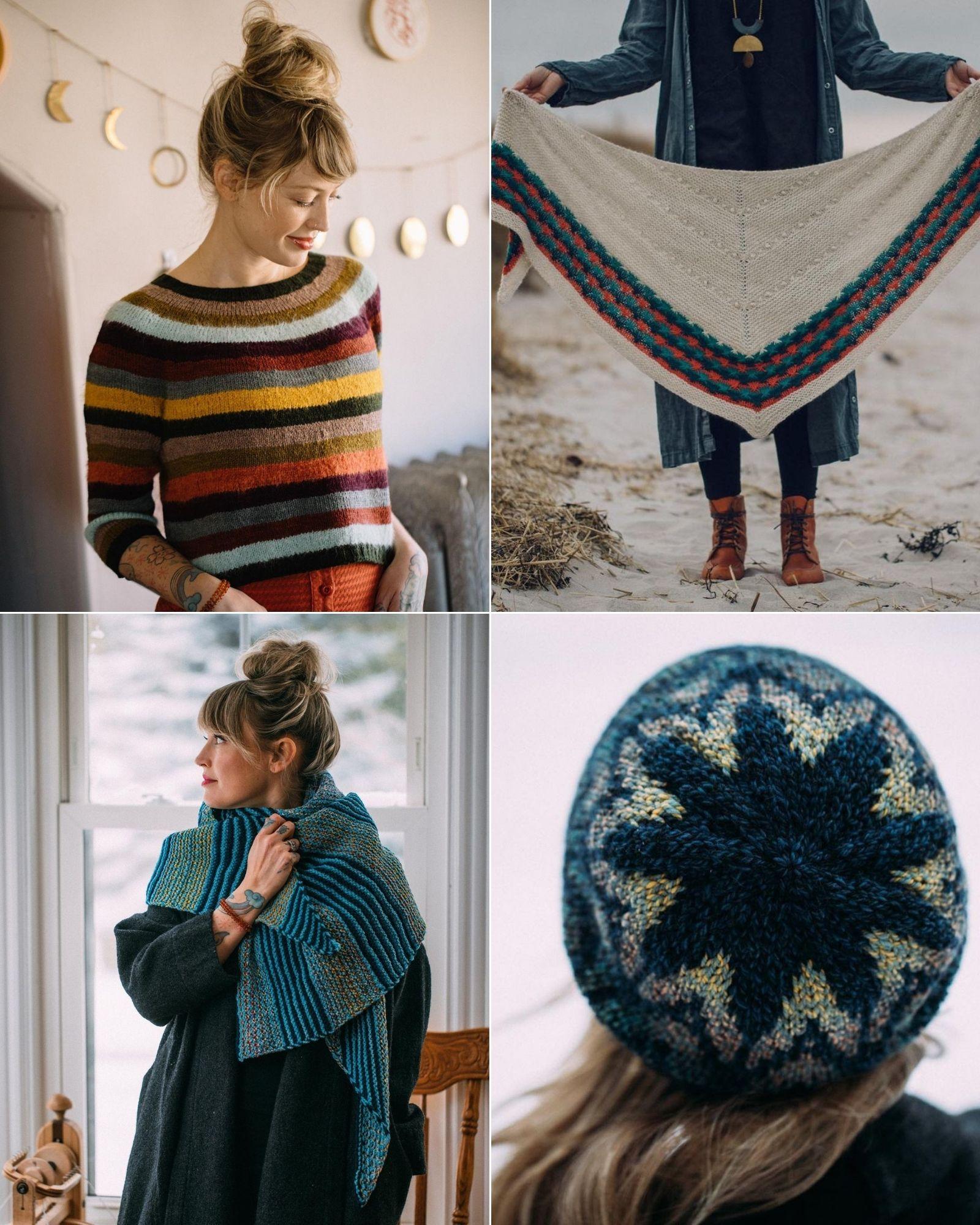 Tài khoản Instagram @dreareneeknits truyền cảm hứng đan len