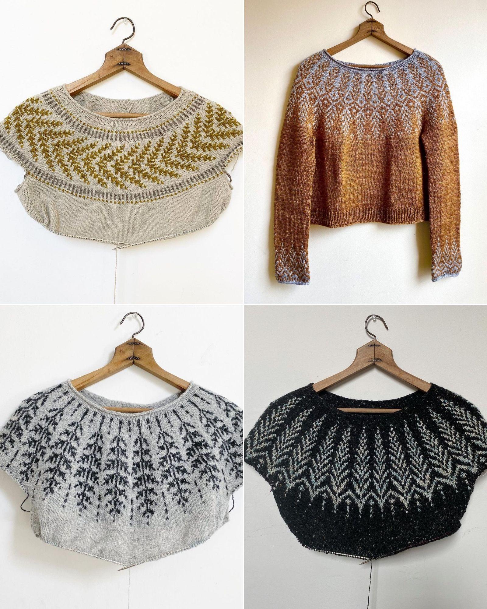 Tài khoản Instagram @knit.love.wool truyền cảm hứng đan len