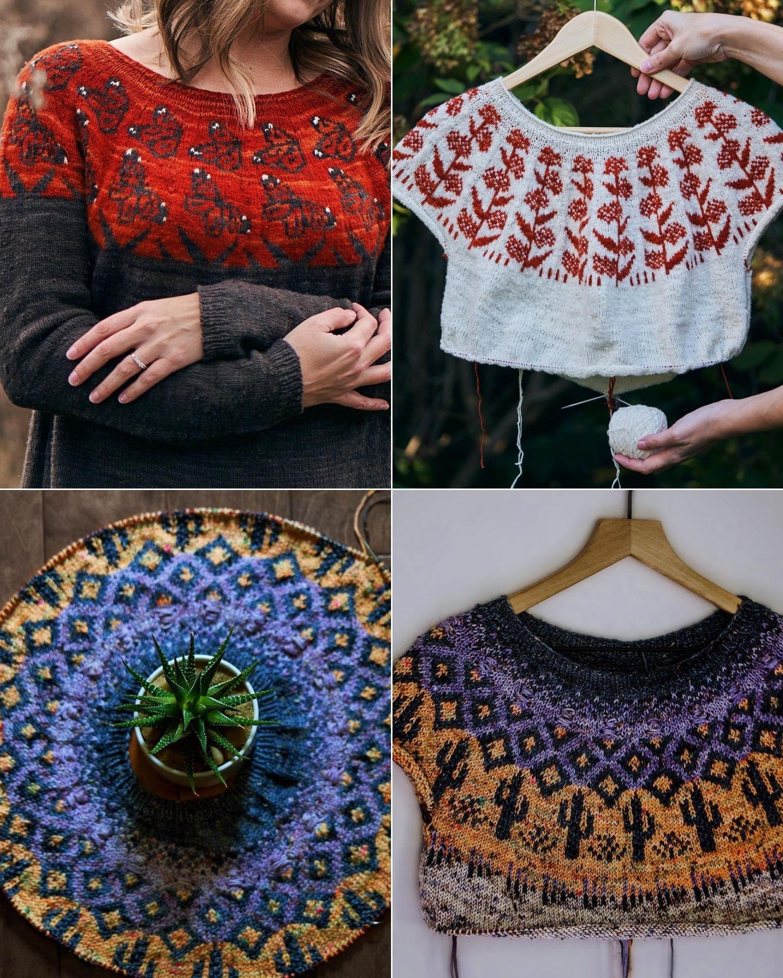 Tài khoản Instagram @knitsophy truyền cảm hứng đan len