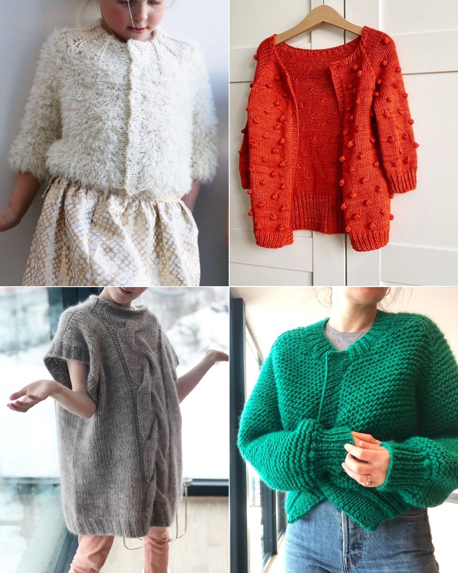 Tài khoản Instagram @madebysiri truyền cảm hứng đan len