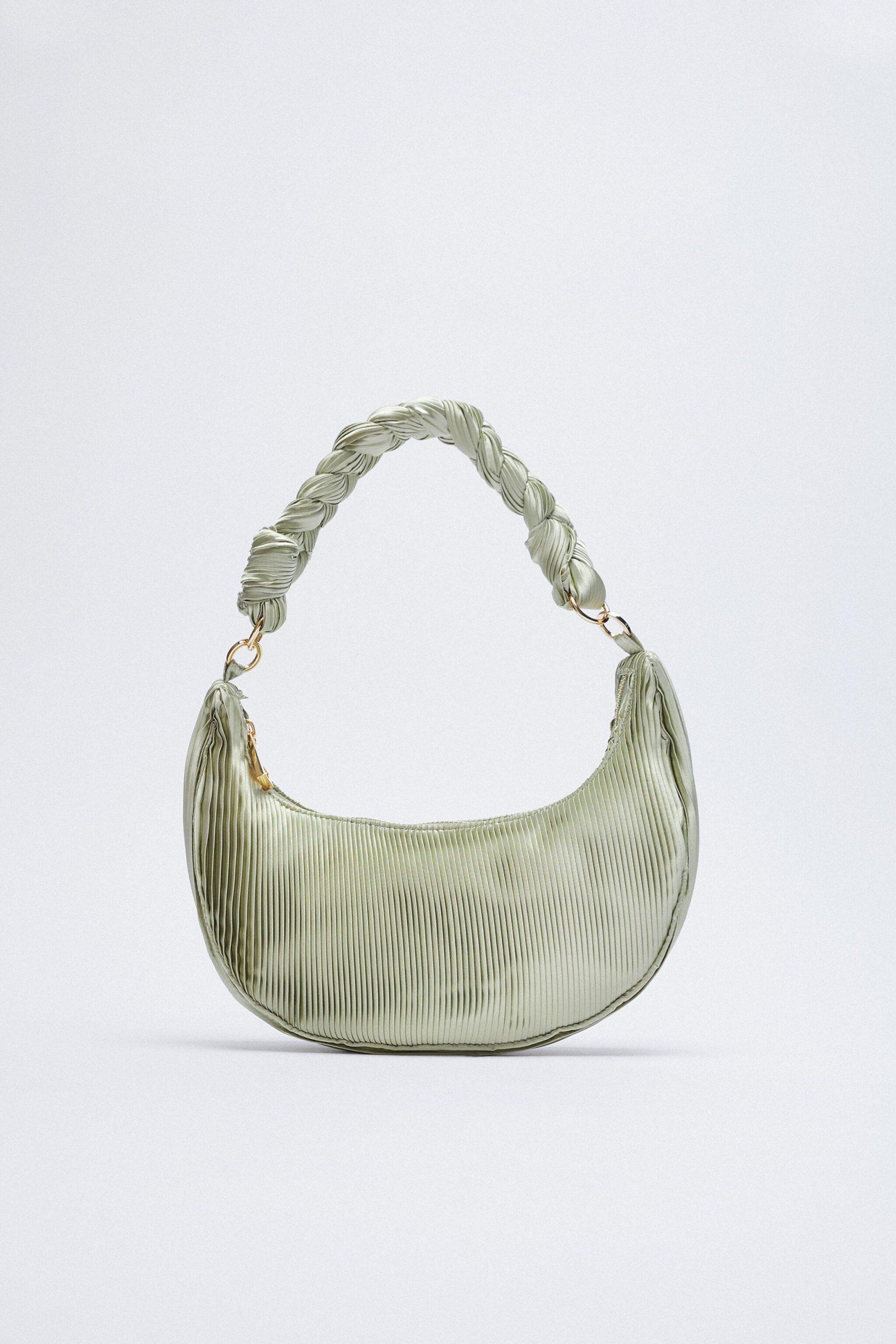 Túi xách Zara hình bán nguyệt