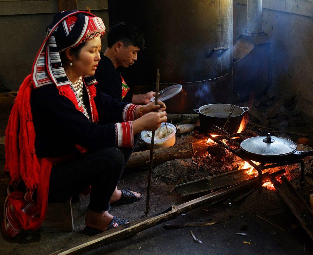 Hoàng Su Phì bếp người Dao