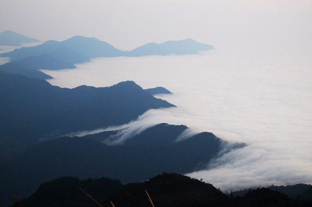 Hoàng Su Phì biển mây bồng bềnh
