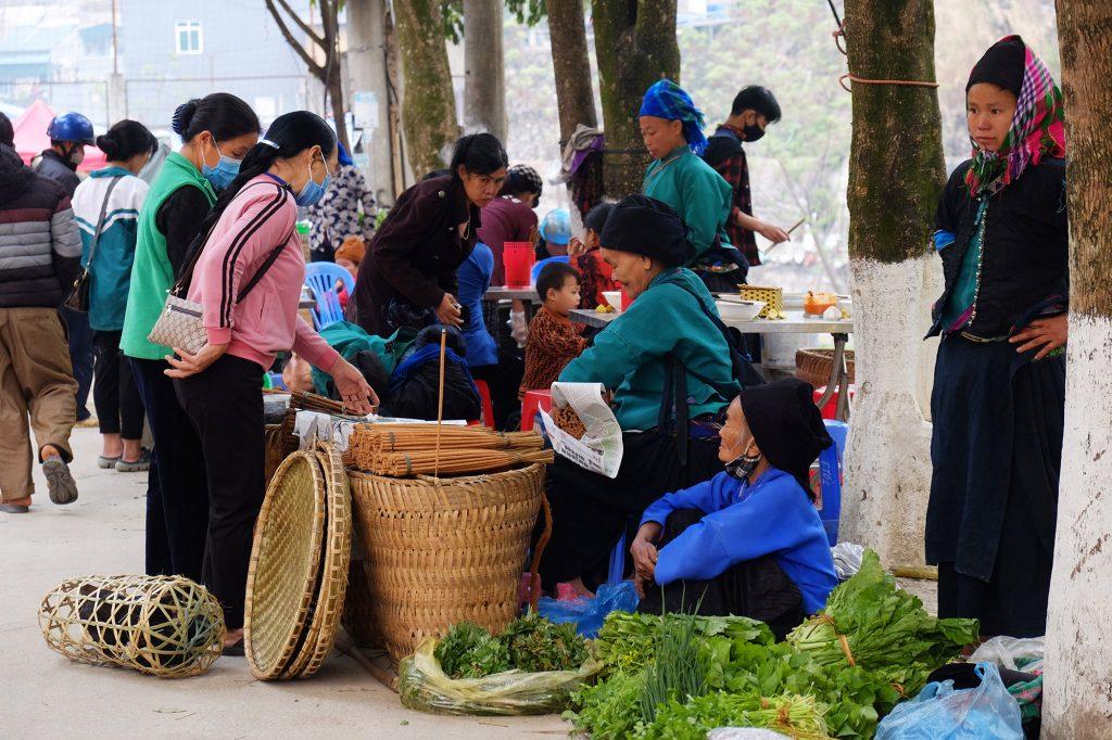 Hoàng Su Phì chợ phiên cuối tuần