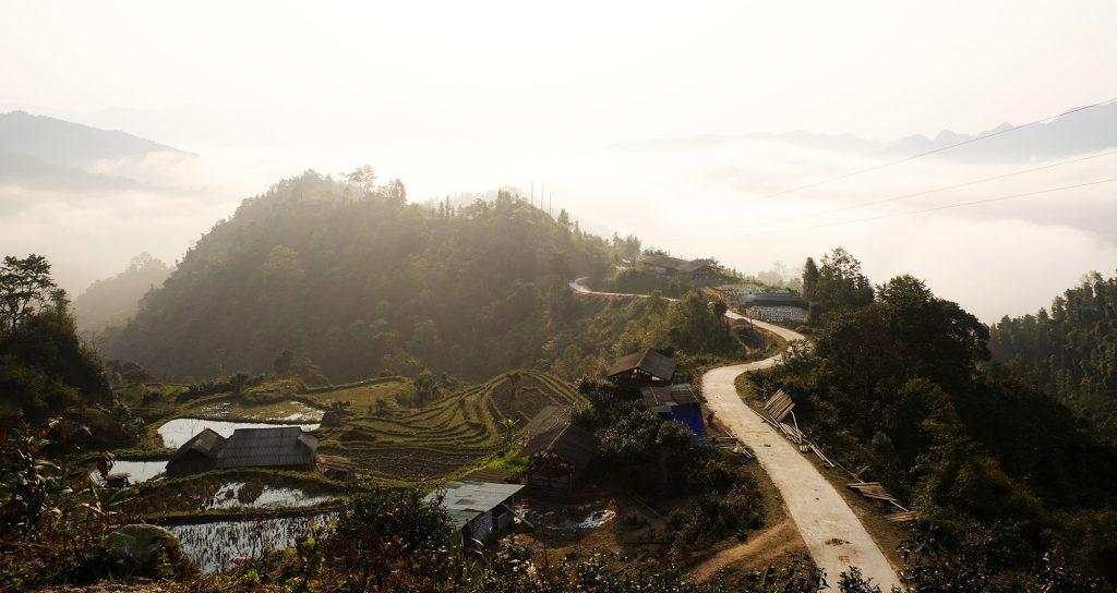 Hoàng Su Phì những mái nhà lác đác