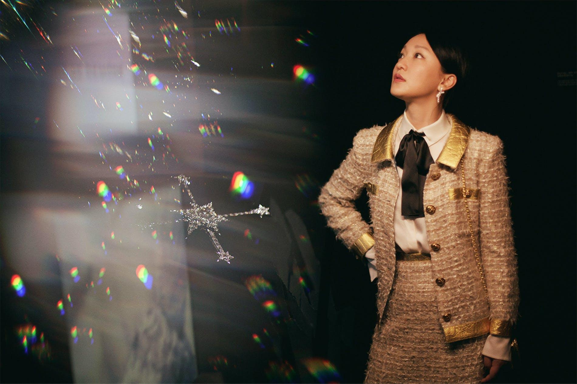 Châu Tấn trong trang phục Chanel