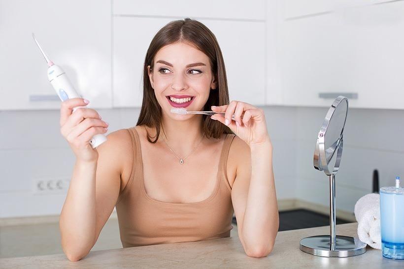 Máy tăm nước - Bí quyết chăm sóc răng miệng chắc khỏe