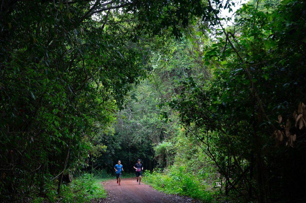 Trị An hoạt động chạy bộ