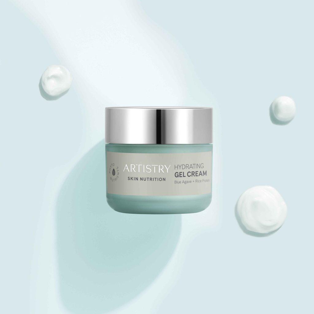 Cải thiện tình trạng da khô với Artistry Skin Nutrition Hydrating Gel Cream