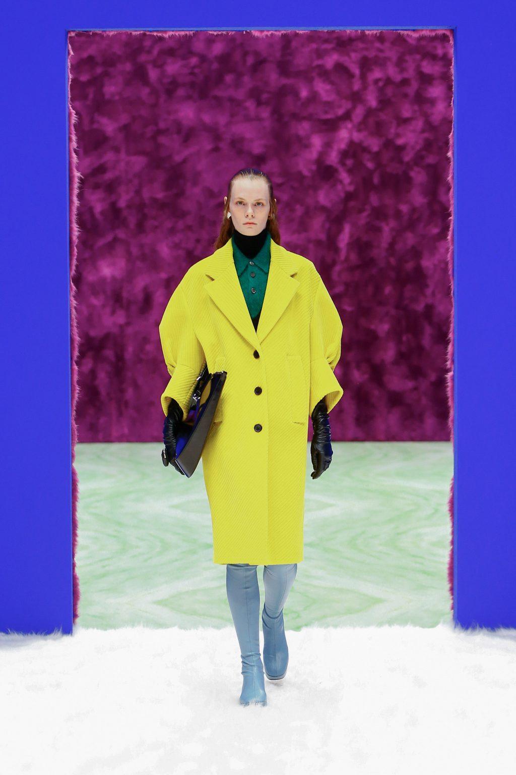 thời trang bst Prada Thu Đông 2021
