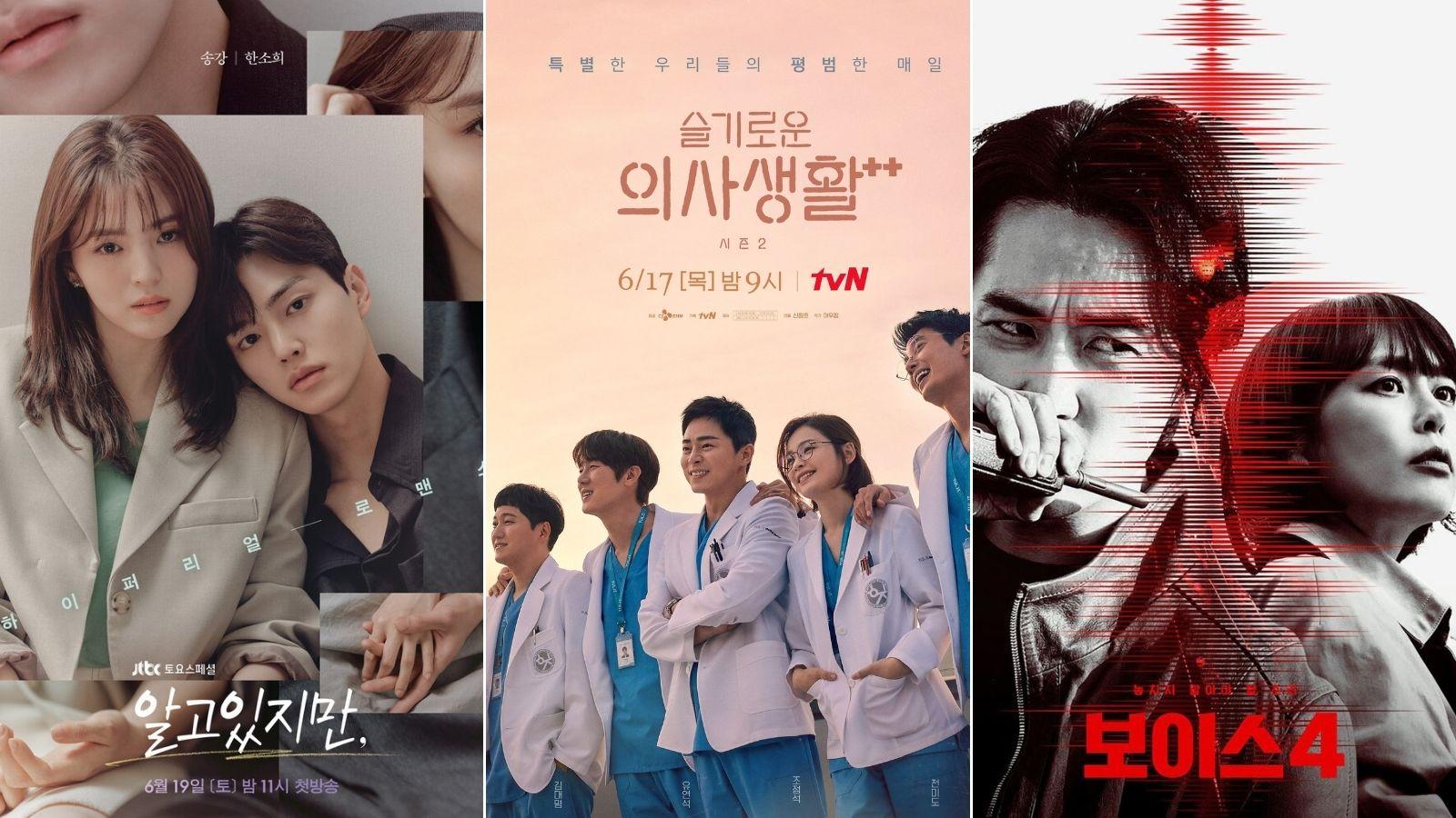 8 bộ phim Hàn Quốc không thể bỏ lỡ trong tháng 6