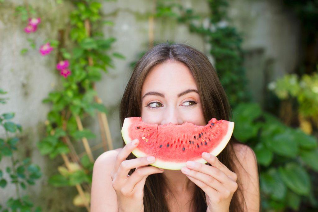 Dưa Hấu - trái cây giúp cấp nước cho cơ thể