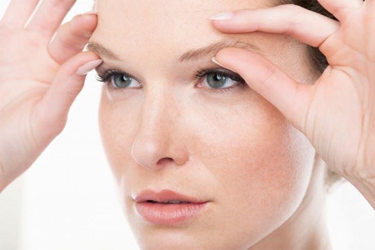 Bài tập massage mặt vùng mắt