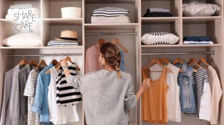 5 bí quyết cần nhớ để dọn dẹp tủ quần áo hiệu quả trong mùa giãn cách