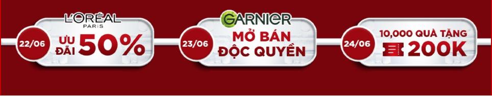Ưu đãi cực khủng từ brand mỹ phẩm đình đám là Garnier