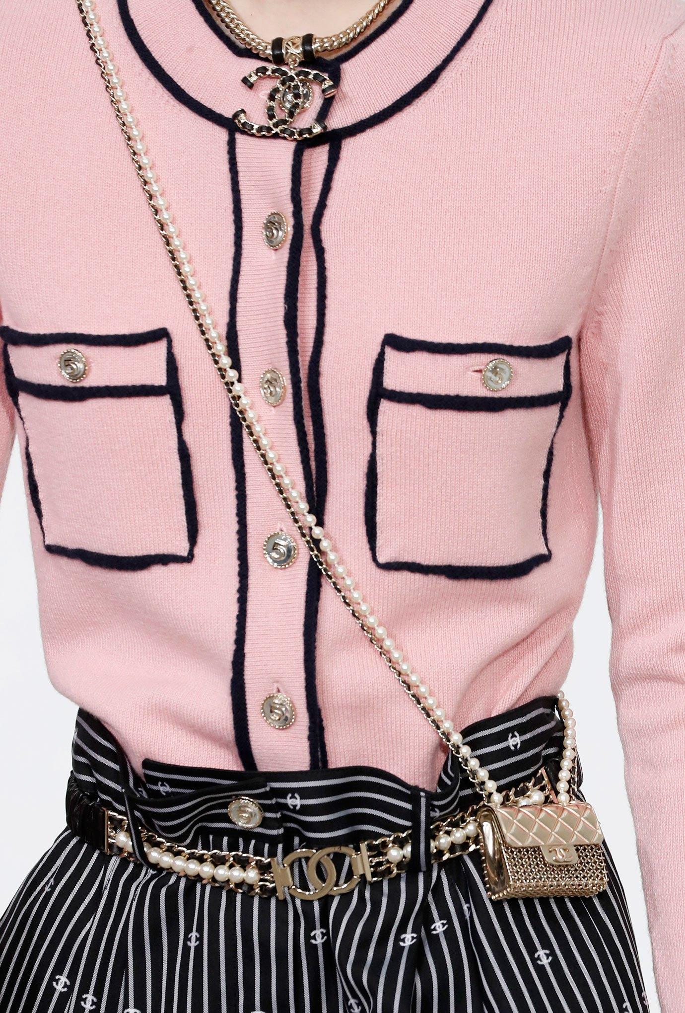Chanel metal bag